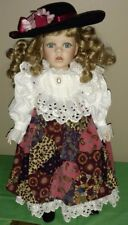 """Vintage Limited Edition 18"""" Seymour Mann Porcelain Doll """"Mary Jo"""""""