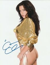 Christa Campbell Autograph Signed Photo 8x10 #13 Actress Horror