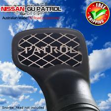 Nissan GU Patrol Snorkel Grill suit Genuine Nissan snorkel +some TJM Ironman ARB