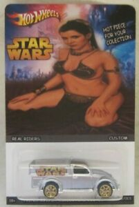 Hot Wheels CUSTOM '49 VOLKSWAGEN BEETLE PICKUP Star Wars Real Riders Limited!