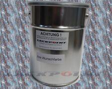 1 Liter Basislack Spritzfertig VW LB3Y Coloradorot Metallic Autolack Acryl Lack