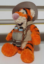 DISNEY WINNIE THE POOH TIGGER PLUSH TOY! SOFT TOY ABOUT 18CM SEATED KIDS TOY!
