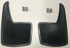 Sports Car Race And Rally Styling Flexible Mud Flaps - Quality Rear Pair