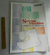 Genuine BROTHER Operation Manual for Brother Sewing Machine CS-8072