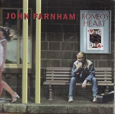 JOHN FARNHAM Romeo's Heart CD + Bonus Disc