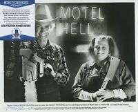 NANCY PARSONS SIGNED AUTOGRAPHED PHOTO MOTEL HELL PORKY'S BECKETT BAS RARE!
