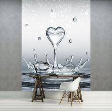 Vlies Fototapete Pusteblume Tapete Wassertropfen Wandtapete Wohnzimmer 100406-9