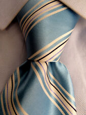 Men's Jones New York Blue Striped Silk Tie A24847