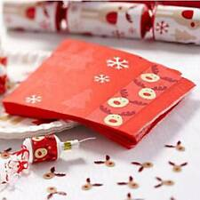 Servizio da tavola di Natale-a dondolo Rudolf-Tovaglioli di carta - 3ply-Confezione da 20