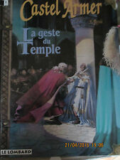 CASTEL ARMER T 1 La geste du temple  Edition originale Rosinski H Reculé