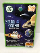 Leap Frog Tag Reading System Solar System Adventure Pack Map Game Board