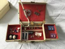 Vintage Jewellery Bundle Including Vintage Jewellery Box