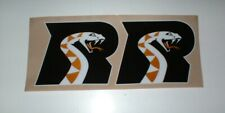 AFL ARIZONA RATTLERS FULL SIZE FOOTBALL DECALS