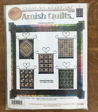New ListingVintage Amish Quilt Kit 5 Quilt Kit Cross My Heart Cross Stitch With Hangers