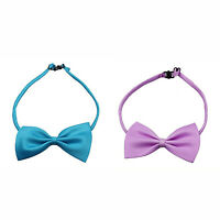 2X(Fashion Cute Dog Little Dog Cat Little Dog Pet Toy Child Bow Tie Clothes  Q7)