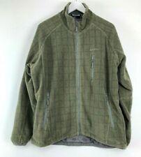 Mens Skogstad Zip Up Hoodie Jacket Coat Khaki Size XL Uk *18