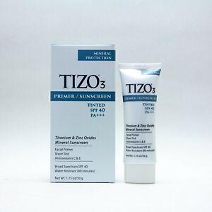 New in Box TIZO 3 Facial Mineral Sunscreen SPF 40 Tinted (1.75oz)