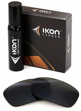 Polarized IKON Replacement Lenses For Oakley Fives Squared Sunglasses - Black