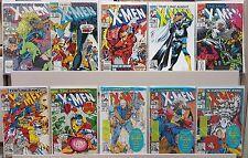 The Uncanny X-Men #269, 273, 284, 289, 291, 292, 293, 294, 295, 296 - CGC READY