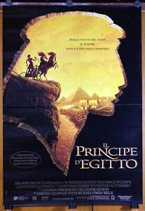 manifesto 1F film IL PRINCIPE D'EGITTO animazione DREAMWORKS 1998