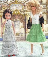 Muñeca de Moda ropa de fiesta ideal Sindy Tejer patrón por correo electrónico (438)