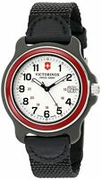 Victorinox Men's 249088 Original Analog Display Swiss Quartz Black Watch 39mm
