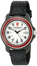 Victorinox Men's 249088 Original Analog Display Swiss Quartz Black Watch 39mm