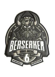 "RAN 816 SQN Flight 6 ""Berserker"" MH-60R Aircrew PVC Patch - 95mm - New"