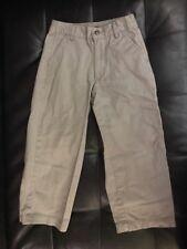 Plc Place Chinos Boys Khaki Uniform Dress 100% Cotton Sz 5