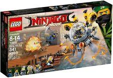 LEGO ® The LEGO ® Ninjago ® Movie ™ 70610 Turbo Méduse Neuf neuf dans sa boîte _ Flying Jelly Sub