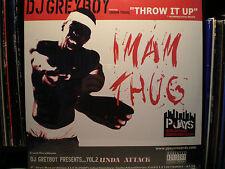 """DJ GREYBOY - THROW IT UP / POLYGOOD (12"""")  1999!!!  RARE!!!  IMAM THUG + MOOD!!!"""