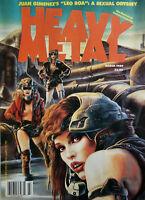 Heavy Metal Fantasy Magazine March 1989 Juan Gimenez Leo Roa Sexual Odyssey VG