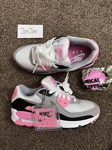 Nike Air Max 90 Rose Pink size 3.5Y