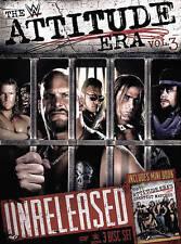 WWE: The Attitude Era, Vol. 3 (DVD, 2016, 3-Disc Set) NEW & SEALED!