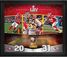 Kansas City Chiefs FRMD campeones del Super Bowl Liv 20x24 Photo & Gu Confeti-le 500