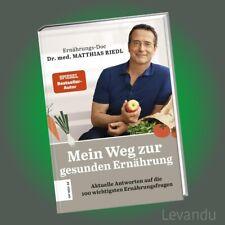 MEIN WEG ZUR GESUNDEN ERNÄHRUNG | DR. MED. MATTHIAS RIEDL | Die Ernährungs-Docs