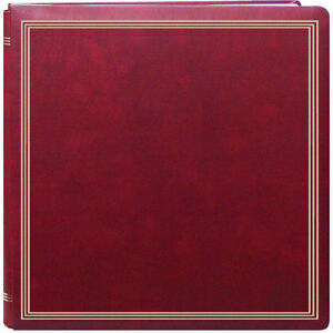 Pioneer PMV-206 Magnetic Photo Album Burgundy (Same Shipping Any Qty)