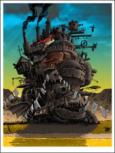 """May All Your Bacon Burn"" HOWL'S MOVING CASTLE print - TIM DOYLE Miyazaki Ghibli"