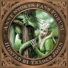 Fans Forum Anne Stokes Green Pin Badge of Dragon Heart