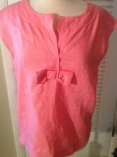 Talbots Size M Linen Top