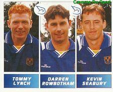 411 LYNCH ROWBOTHAM ENGLAND SHREWSBURY TOWN STICKER FOOTBALL LEAGUE 1996 PANINI