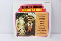 Ernest Tubb's Greatest Hits MCA-16 Vintage Vinyl Record 1980 LP