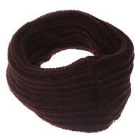 Fashion Female Winter Warm Loop Snood Scarf Knit Neck Circle Wool Wrap Shawl HO3