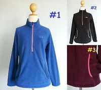 6688 The North Face 1/2 Zip Jacket Soft Fleece Floral Sweatshirt Women XS S M L