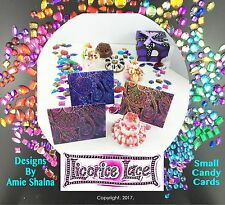 Rainbow Candy Cards & Gift Tags, Set 20, Fairy Cards, Present Decoration, Labels