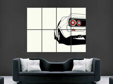 Nissan Skyline Car Rear Poster Wall Art Image Print Large Giant