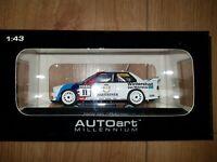 1:43 AUTOart BMW M3 3-Series E30 DTM 1991 #11 Steve Soper Warsteiner 69146