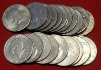 20 Eisenhower Ike Dollars 1971-1978 Mixed Dates/Grades No culls #