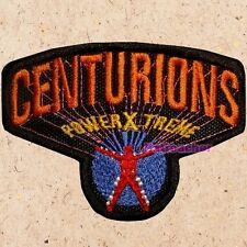 Centurions Logo Patch TV Series Cartoon Power Extreme Ace McCloud Embroidered