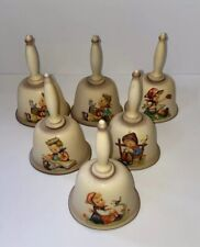 Goebel M.I. Hummel Annual Bells 1978-1982 Lot of 6